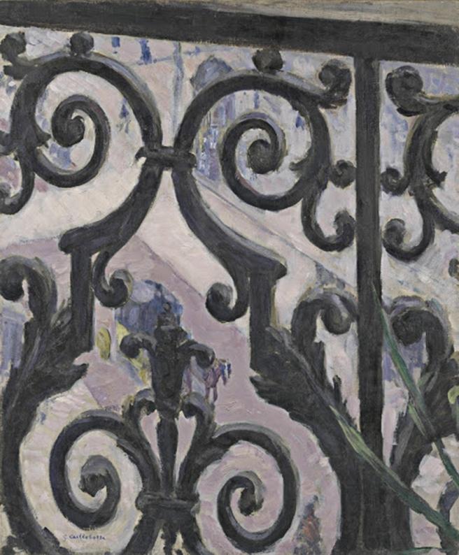 Caillebotte view through a balcony 1880.jpg