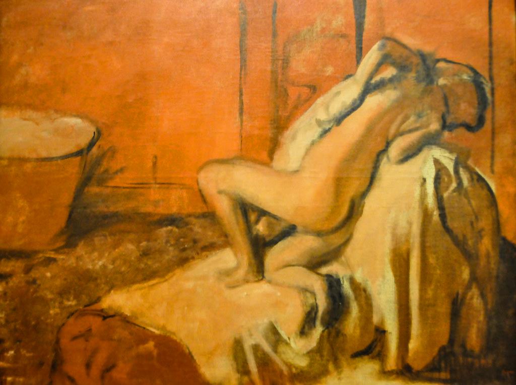 Degas Na het bad ca. 1896.jpg