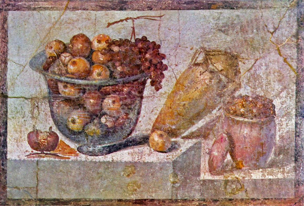 1 Stilleven Pompeii