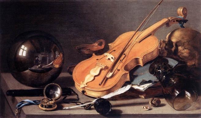 1a vanitas Pieter Claesz 1628