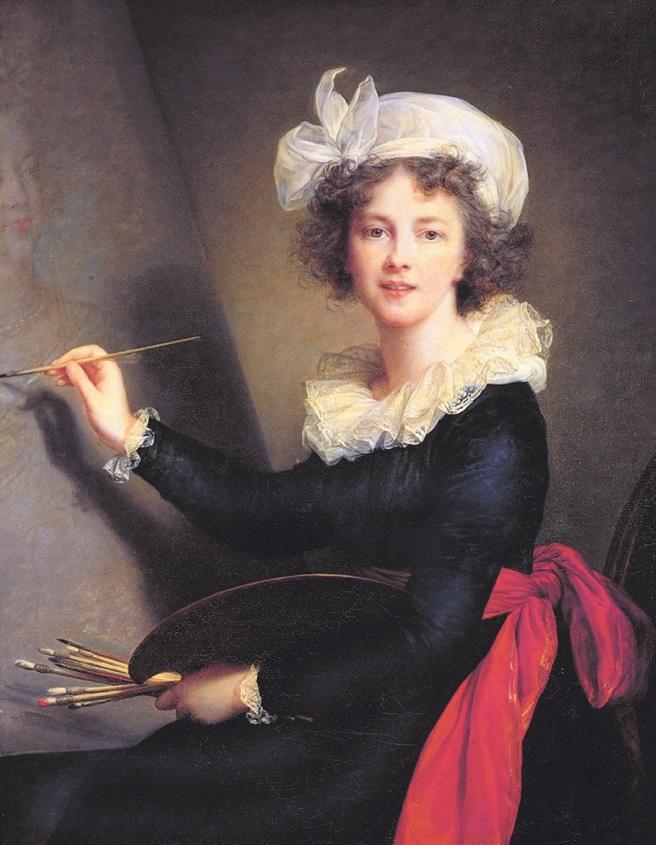 Élisabeth Louise Vigée Le Brun: <i>Self-Portrait</i>, 1790
