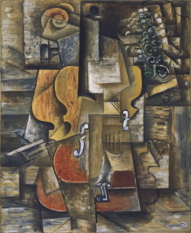 Picasso Violin and grapes Moma