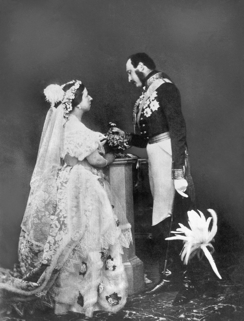1. Queen-Victoria-Prince-Albert wedding 1840