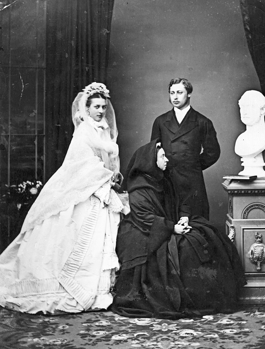 6 wedding Bertie and Alex 1863