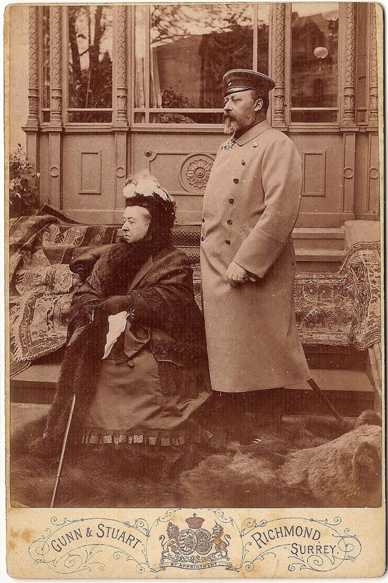 7 Carte-de-Visite Victoria and Prince of Wales