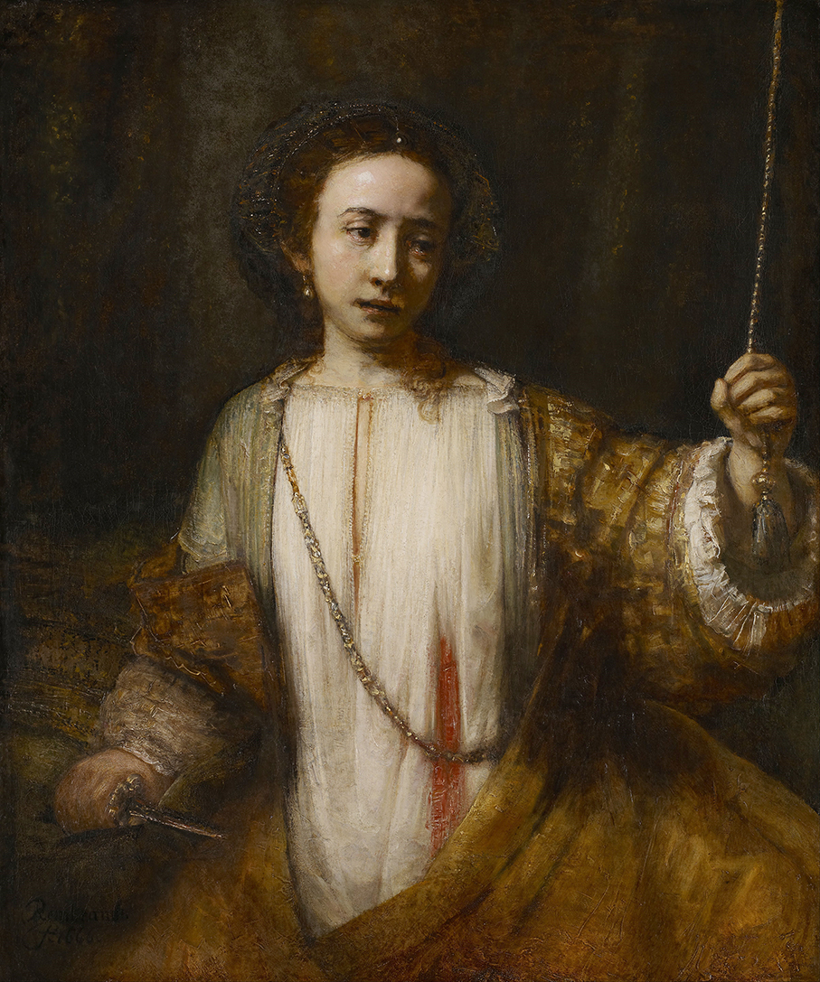 Rembrandt Lucretia (II) 1666