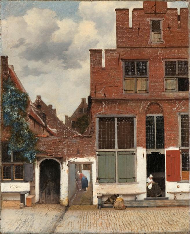 Straatje van Vermeer 1658