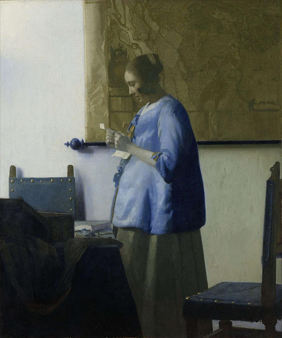Vermeer,_Johannes_-_Woman_reading_a_letter_-_ca-1._1662-1663