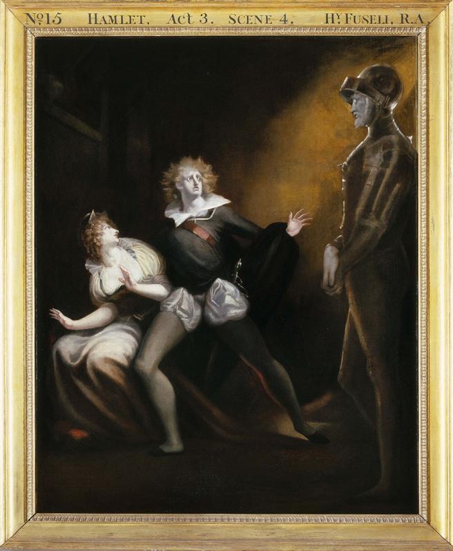 2 Henri Fuseli Hamlet 1793