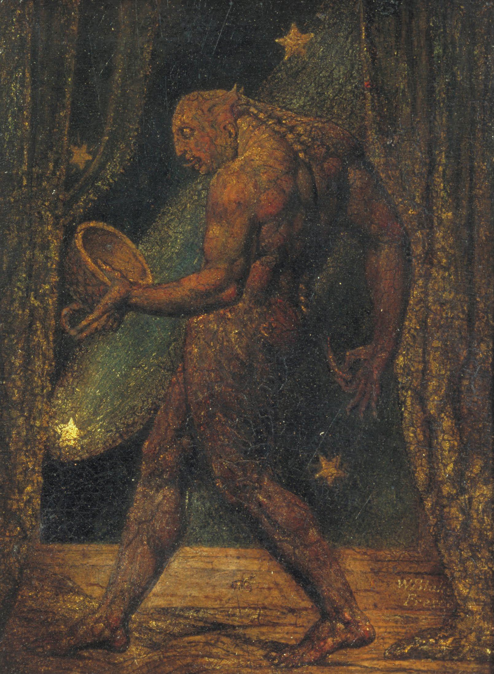 4 Blake The Ghost of a Flea ± 1820