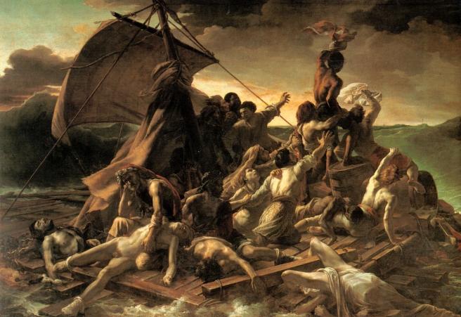 6 Géricault le Radeau de la Méduse ± 1818