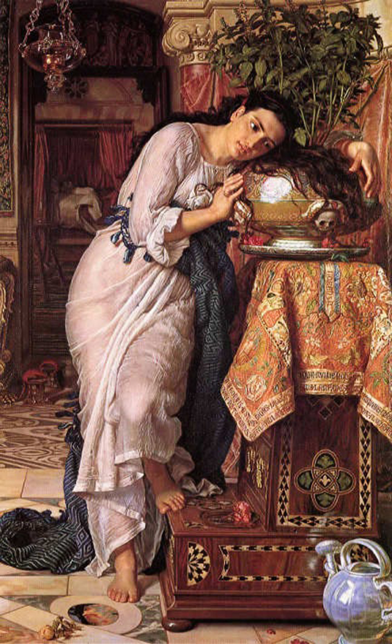 7 Hunt,_William_Holman_—_Isabella_and_the_Pot_of_Basil_—_1867