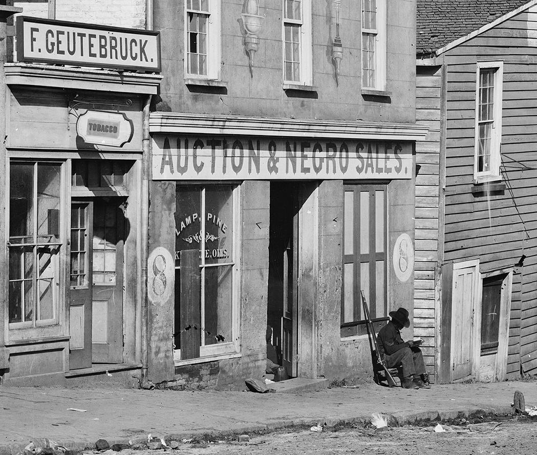4. Slave trader's business in Atlanta, Georgia, 1864