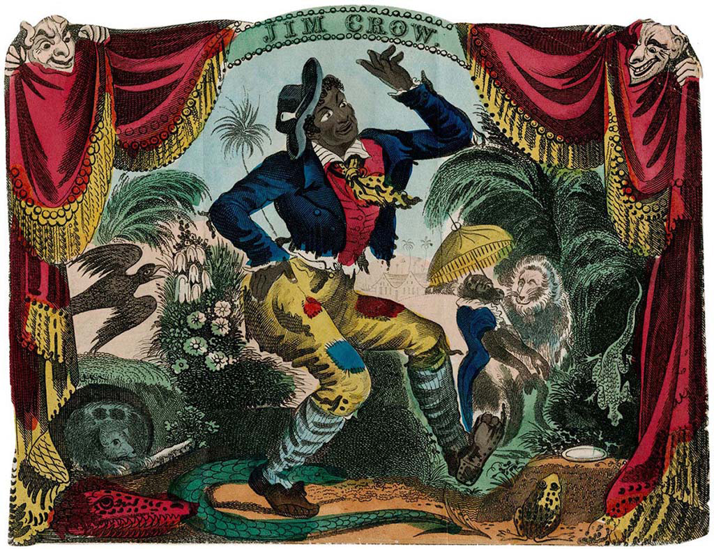 6. Thomas_Rice_playing_Jim_Crow_in_blackface_New_York_City_1833